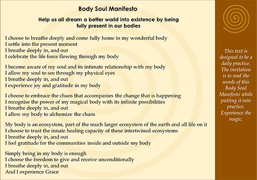 Body Soul Manifesto